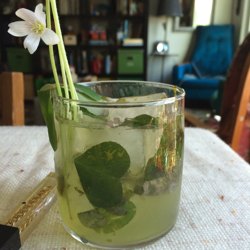 Looking mojito, feeling gimlet