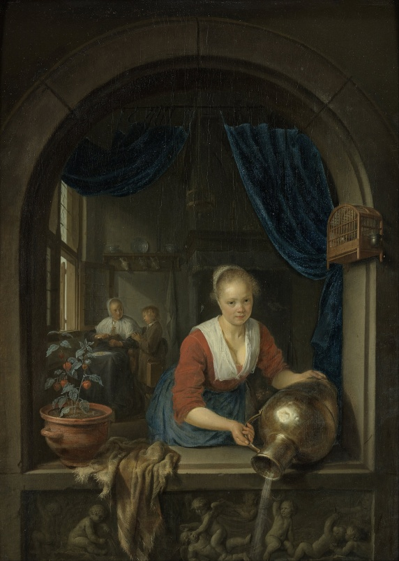 Gerard_Dou_-_Maid_at_the_Window_-_Google_Art_Project